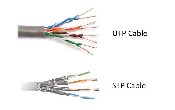 Unshielded Twisted Pair UTP This Is The Most Commonly Used Cable It Does Not Have Any Protective Shielding Mostly In Traditional Homes And