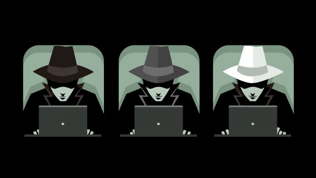White Hat, Grey Hat, Black Hat Hackers
