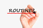 Develop a routine